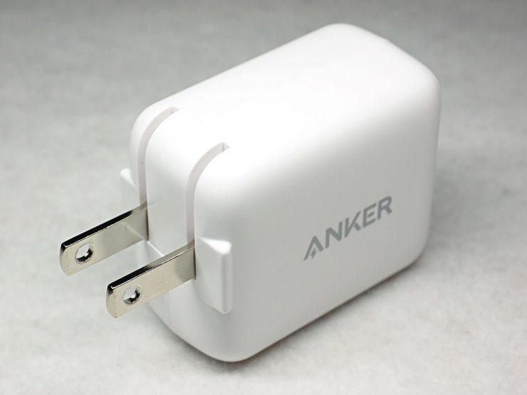 Anker PowerPortⅢ mini背面